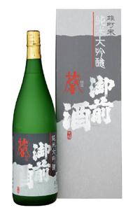 純米大吟醸 馨 - 1800ml