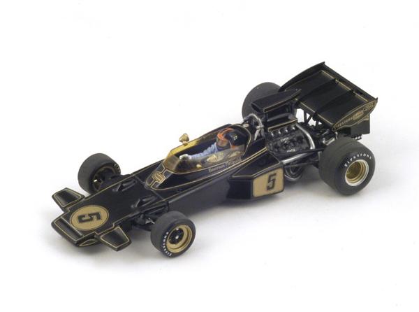 1989年創業 F1グッズ・ミニカーの専門店              スパーク 1/43 ロータス72D E.フィッティパルディ 1972年スペインGP優勝 No.5
