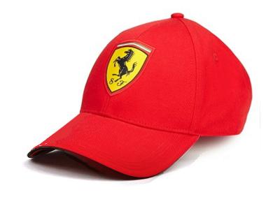 フェラーリ  SF カーボンキャップ レッド