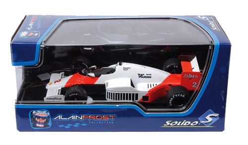 SOLIDO(ソリド) アランプロストコレクション 1/43 マクラーレン MP4/2B ワールドチャンピオン 1985年