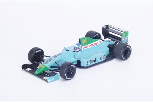 スパーク 1/18 レイトンハウス CG901 I.カペリ 1990年フランスGP2位 NO.16