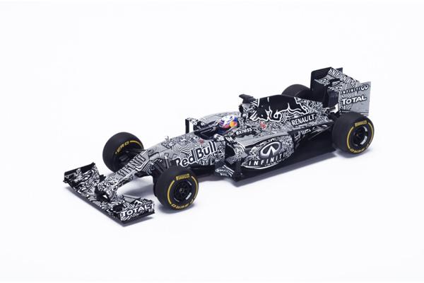 スパーク 1/18 レッドブル RB11 テストカー2015 D.リカルド No.3