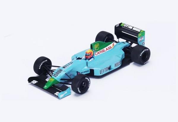 スパーク 1/18  レイトンハウス CG901 M.グージェルミン 1990年フランスGP No.15