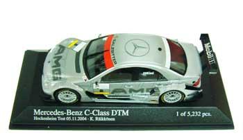 1/43 メルセデス Cクラス DTM AMG  K.ライコネン テストドライブ