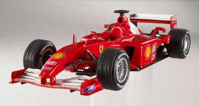 1/18 フェラーリ  F2001 シューマッハ ハンガリーGP (エリートシリーズ) ノンドライバー仕様