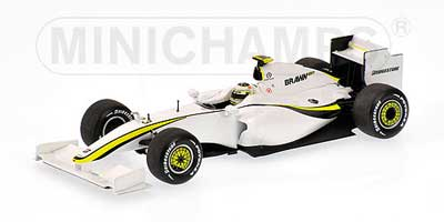 1/43 ブラウンGP 2009ショーカー バリチェロ