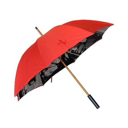 フェラーリストア限定 フェラーリ ヴィンテージアンブレラ(傘) レッド