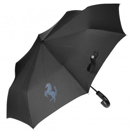 フェラーリストア限定 アンブレラ 折りたたみ傘 ブラック