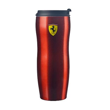 フェラーリストア限定 フェラーリ スクーデット&フラッグ コーヒー トラベル タンブラー