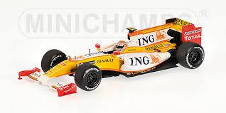 ミニチャンプス 1/43 ルノーF1 2009ショーカー N.ピケJr