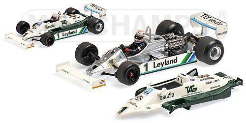 ミニチャンプス 1/43 ウィリアムズ フォード FW07C A.ジョーンズ 1981 エンジン付き