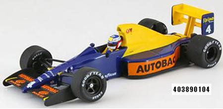 ミニチャンプス 1/43 ティレル フォード 018 ジャン・アレジ 1989 日本GP仕様