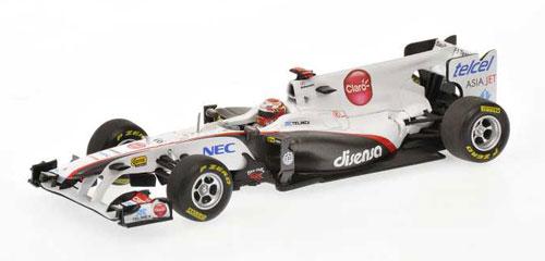 1/43 ザウバー F1チーム 2011ショーカー 小林 可夢偉