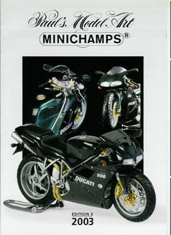 ミニチャンプス カタログ2003 EDITION3