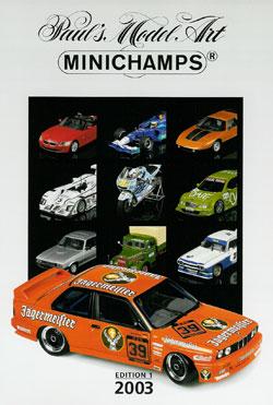 ミニチャンプス カタログセット 2003