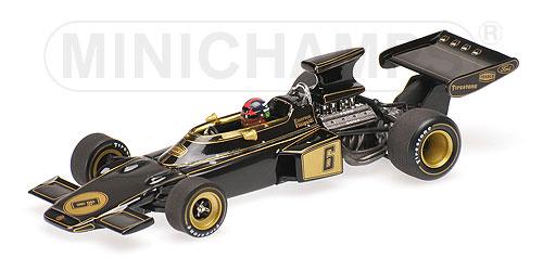 ミニチャンプス 1/43 ロータス フォード 72 E.フィッティバルディ 1972年イタリアGP優勝 ワールドチャンピオンボックス