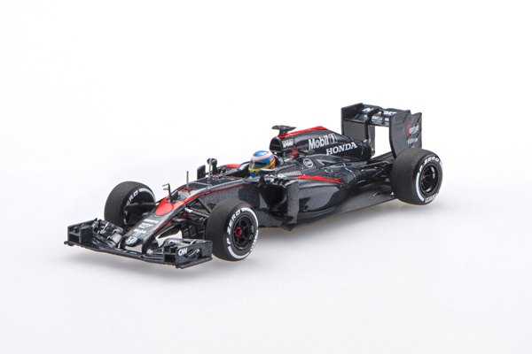 エブロ 1/43 マクラーレン ホンダMP4-30 F.アロンソ 2015年日本GP No.14