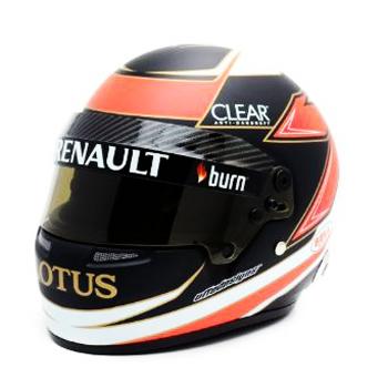 ロータス F1 別注 1/2 ヘルメット  キミ・ライコネン 2013