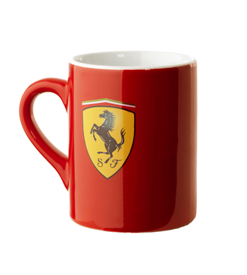 フェラーリ スクーデットマグカップ レッド
