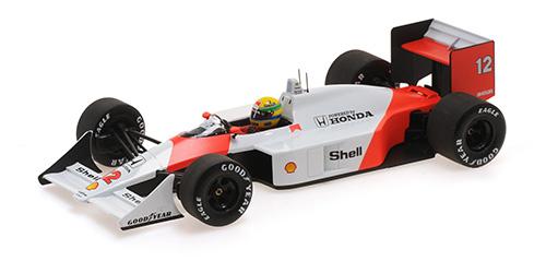 ミニチャンプス 1/18 マクラーレン ホンダ MP4/4 A .セナ ワールドチャンピオン 1988