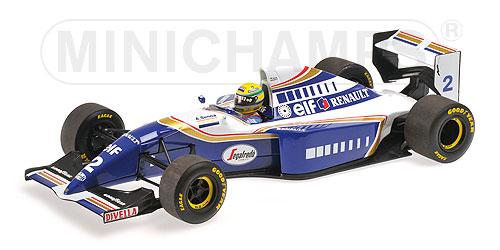 ミニチャンプス 1/18 ウィリアムズ ルノー FW16 A.セナ 1994