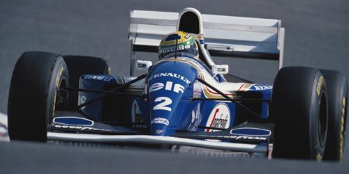 ミニチャンプス 1/43 ウィリアムズ FW16 A.セナ 1994年パシフィックGP セナコレクション(NEWパッケージ)