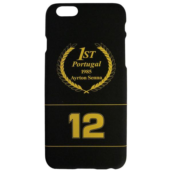 セナ財団公認商品 セナ iPhone6カバー NO.12ブラック