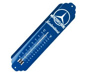 メルセデスコレクション ブリキ 温度計