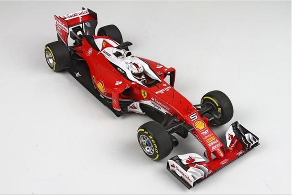 BBR MODELS <MINICHAMPS Exclusive> 1/18 フェラーリ SF16-H S.ベッテル 2016年オーストラリアGP