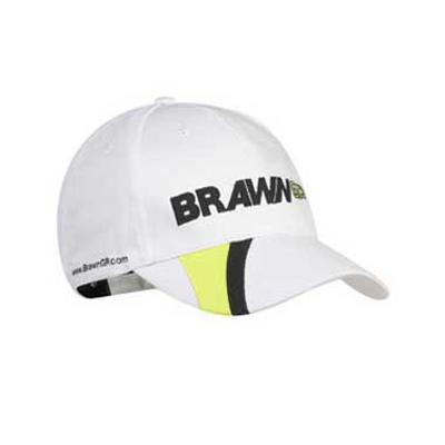 ブラウンGP チームキャップ ホワイト