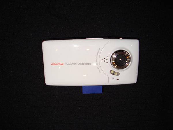 ボーダフォン・マクラーレンメルセデス パドックゲスト用 HD.デジタルビデオカメラ