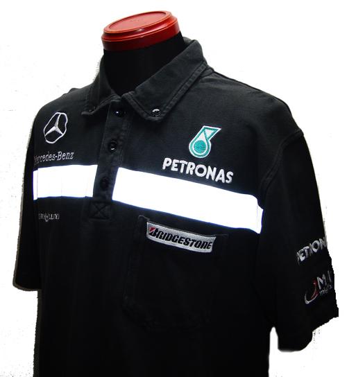 メルセデスGP 2010 チーム支給品 セットアップ ポロシャツ USED   サイズ:M(少し大きめ・かなり使用感あり) ヘンリーロイド製