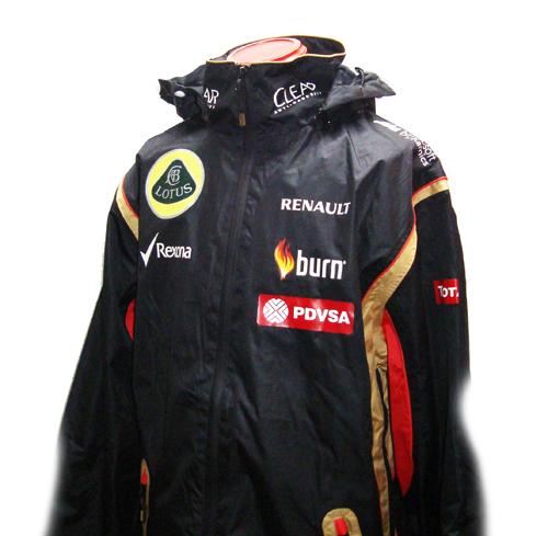 2014 ロータス チーム支給品 レインジャケット 新品 サイズL