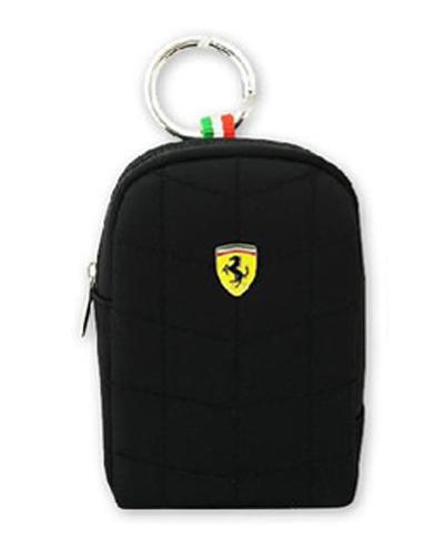 フェラーリ モバイル ポーチ  V2 MEDIUM Black