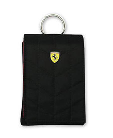フェラーリ メディアポーチ POUCH VERTICAL   V1 BLACK