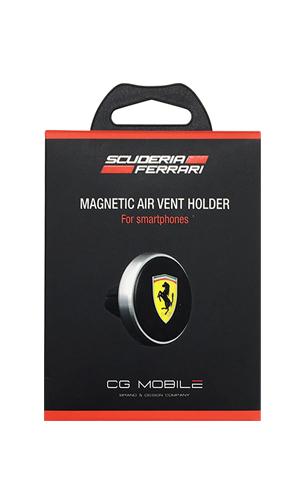 フェラーリ 車載用 マグネット式 スマートフォンホルダー