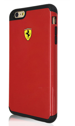 """フェラーリiPhone6/6S(4.7inch)カバー  """"2 Part Hard Case - Glossy - Red"""""""