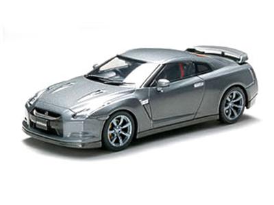 【SALE】フジミ 1/43 NISSAN GT-R 塗装済完成品シリーズ ダークメタルグレー