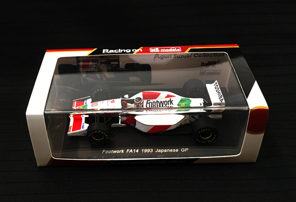 スパーク Racing on(レーシングオン)別注 1/43 フットワークFA14 鈴木亜久里 1993日本GP仕様