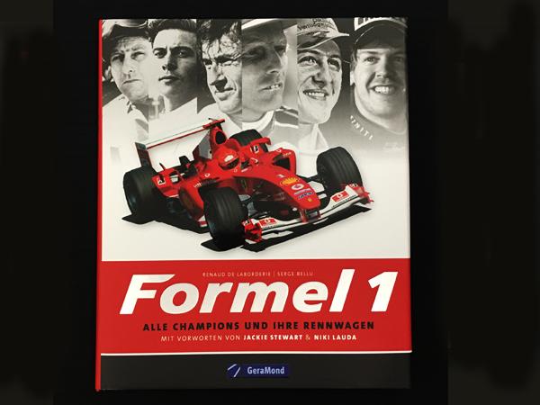 """洋書 Fomel1 """"F1ワールドチャンピオンの歴史"""""""