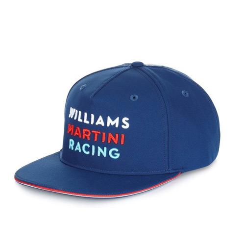 2017 ウィリアムズ チームキャップ FLATタイプ