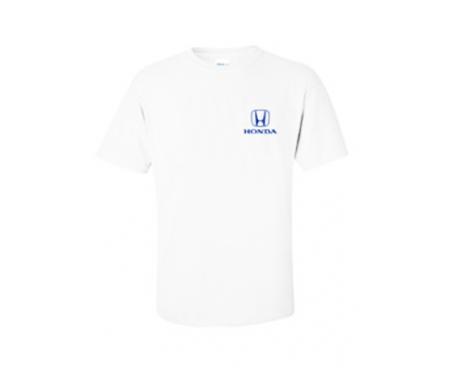 HONDA ホンダ ロゴTシャツ ホワイト サイズS~L(日本サイズM~XL)
