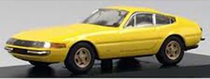 京商オリジナル 1/64 フェラーリ 365GTB イエロー(台座/ケース付・組み立てモデル)