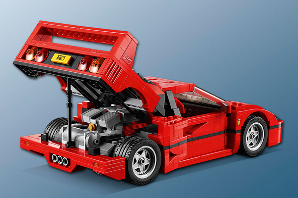 lego creator 10248 ferrari f40 f40 f1 grandprix. Black Bedroom Furniture Sets. Home Design Ideas