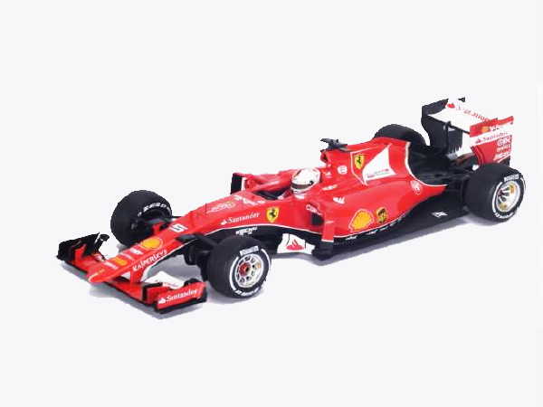 【ご予約商品特典付】11月発売予定 ルックスマート 1/18 フェラーリ SF15-T S.ベッテル 2015年ベルギーGPフェラーリF1参戦900戦 NO.5