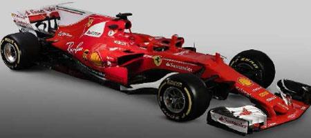 【ご予約商品特典付】ルックスマート (LS18F106)2017年6月発売予定  1/18 フェラーリ SF70H プレゼンテーション 2017