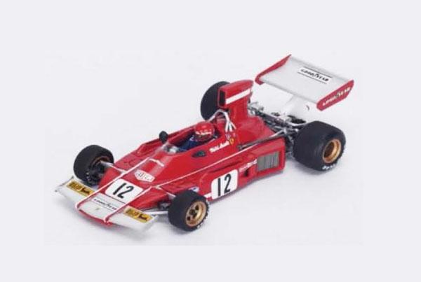 【開幕ミニカーフェアー対象】ルックスマート 1/43 フェラーリ 312B3 N.ラウダ1974年アルゼンチンGP2位 No.12