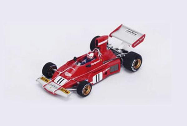 【開幕ミニカーフェアー対象】ルックスマート 1/43 フェラーリ 312B3 C.レガッツォーニ 1974年ブラジルGP No.11