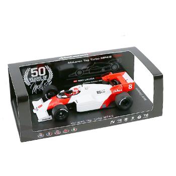 マクラーレン50周年別注 スパーク 1/43  マクラーレン MP4/2 N.ラウダ 1984年ワールドチャンピオン