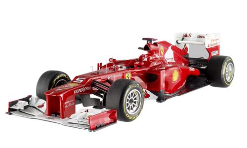 マテル 1/18 フェラーリ F2012 F.アロンソ 2012年マレーシアGPウィナー   エリートシリーズ (ノンドライバー)
